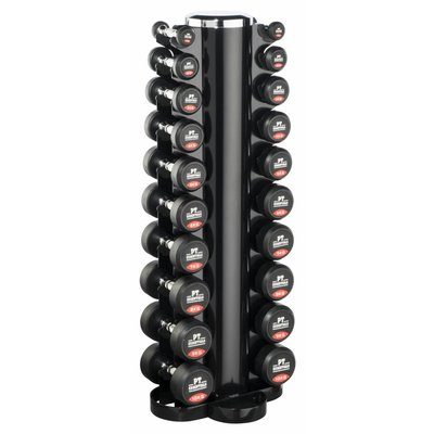 PTessentials PRO Dumbbell Set 1 t/m 10 kg incl. opbergtoren