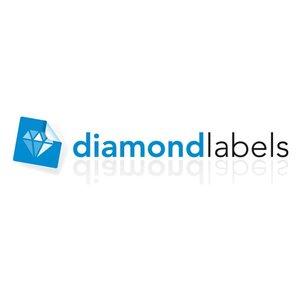Diamondlabels Diamondlabels thermisch direct DTD09 papier Eco 56x25mm Kern 25mm 3315 per rol
