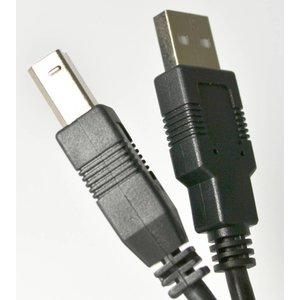 USB kabel: 3 meter. Voor uw Seiko, Dymo & zebra etiketten en labelprinters