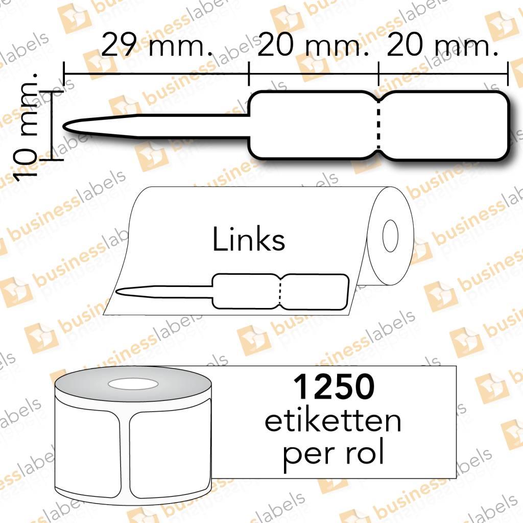 Speciale etiketten voor zebra juweliers en verzend-etiketten