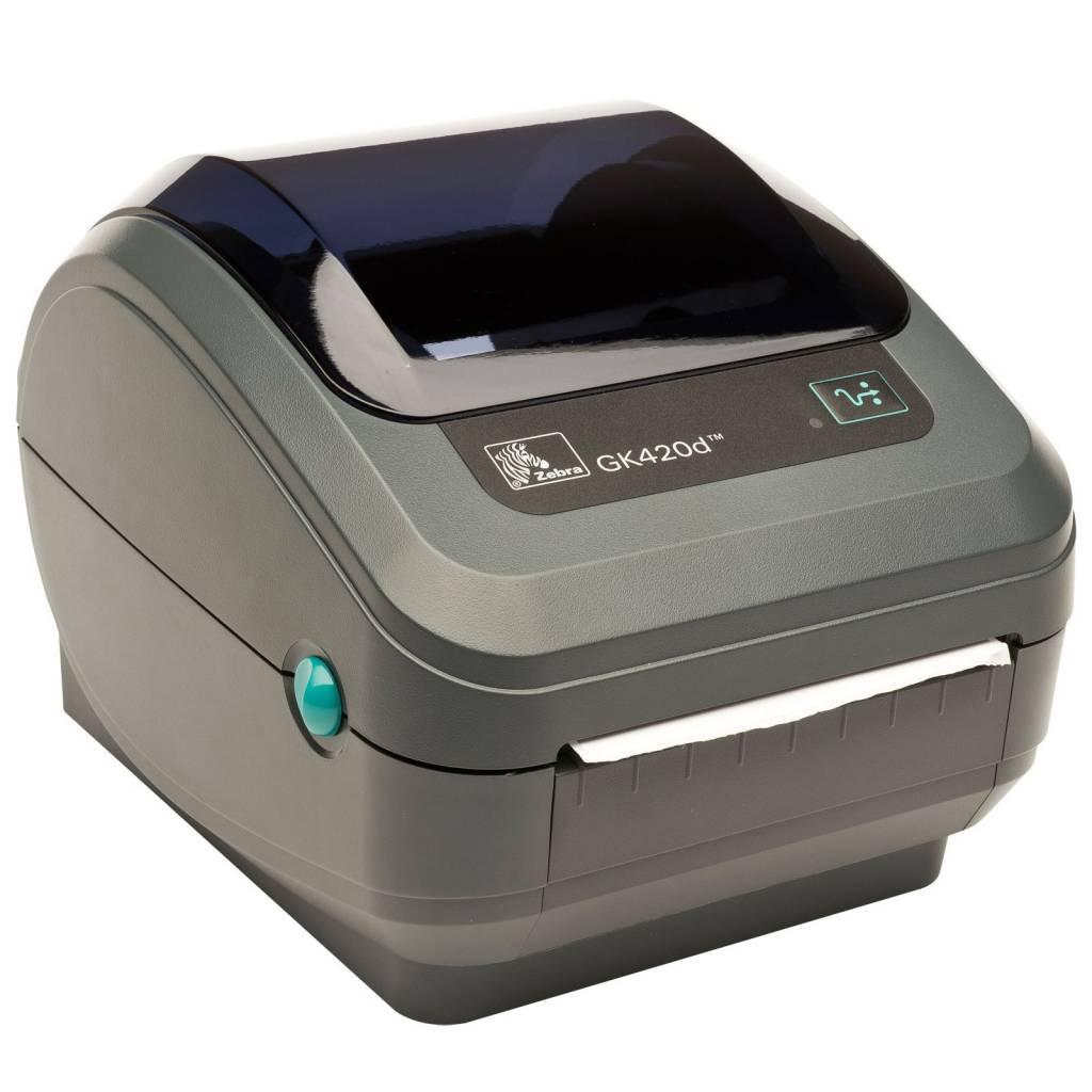 GK420D, Zebra etiketten en label printer (verzendetiketten ...