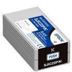 Epson inktcartridge Zwart (Black) EPSON TM-C3500 SJIC22P(K)