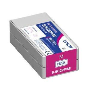 Epson inktcartridge Magenta voor de EPSON TM-C3500 inkjet SJIC22P(M)