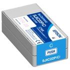 Epson inktcartridge Cyaan EPSON TM-C3500 SJIC22P(C)