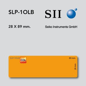 Seiko Instruments, SII SLP-1OLB 28x89mm 130 l/r 1 rol oranje