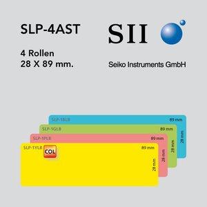 Seiko Instruments, SII SLP-4AST 28x89mm 130 l/r 4 rollen
