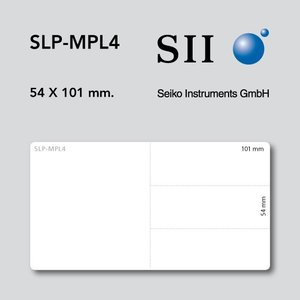 Seiko Instruments, SII SLP-MPL4 54x101mm 220 labels per rol