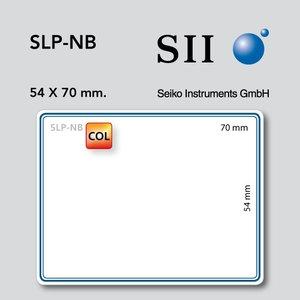 Seiko Instruments, SII SLP-NB 54x70mm 160 l/r blauw 1 rol
