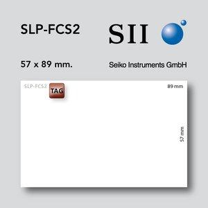 Seiko Instruments, SII FCS2 57x89mm 600 kaarten p/s 1