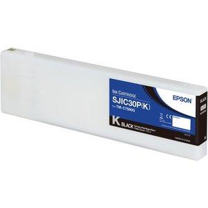 Epson SJIC30P(K) Inktcartridge Colorworks TMC7500G Zwart (Black) C33S020639