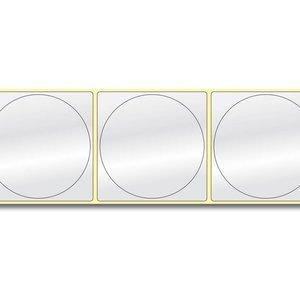 Diamondlabels Ø75 mm. 415 inkjet labels permanente lijm & glanzende etiketten