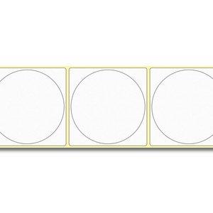 Diamondlabels Ø75 mm. 415 inkjet labels permanente lijm & matte etiketten