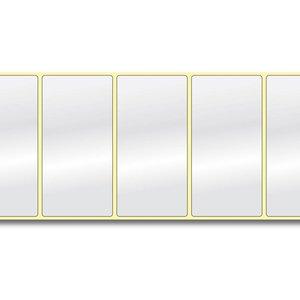 Diamondlabels 101,6 mm. x 50,8 mm. 650 inkjet labels permanente lijm & glossy etiketten