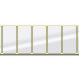 Diamondlabels 76,2 mm. x 38 mm. 850 inkjet labels permanente lijm & glossy etiketten