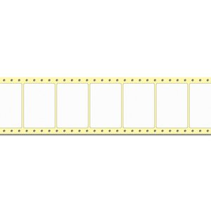Diamondlabels 74 x 52 mm. 2500 labels, Papier Mat, permanent, Fan-Fold Epson Colorworks GP-C831
