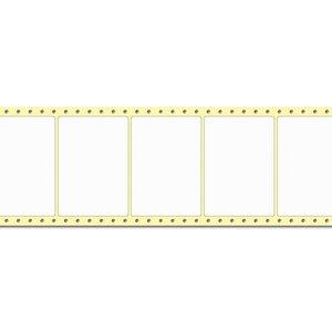 Diamondlabels 105 x 74 mm. 2000 labels, Papier Mat, permanent, Fan-Fold Epson Colorworks GP-C831