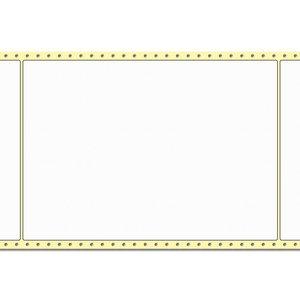 Diamondlabels 210 x 297 mm. 500 labels, Papier Mat, permanent, Fan-Fold Epson Colorworks GP-C831