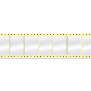 Diamondlabels 74 x 52 mm. 2500 labels, Papier Glanzend, permanent, Fan-Fold Epson Colorworks GP-C831