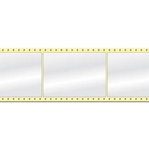 Diamondlabels 105 x 148 mm. 1000 labels, Papier Glanzend, permanent, Fan-Fold Epson Colorworks GP-C831
