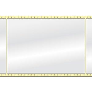 Diamondlabels 210 x 297 mm. 500 labels, Papier Glanzend, permanent, Fan-Fold Epson Colorworks GP-C831