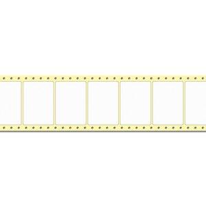 Diamondlabels 74 x 52 mm. 2500 labels, PE kunststof, permanent, Fan-Fold Epson Colorworks GP-C831