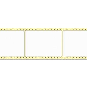 Diamondlabels 105 x 148 mm. 1000 labels, PE kunststof, permanent, Fan-Fold Epson Colorworks GP-C831
