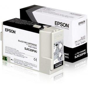 Epson inktcartridge Zwart (K) voor de EPSON TM-C3400 SJIC20P