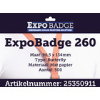 Diamondlabels ExpoBadge-260 96x134 Butterfly