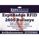 Diamondlabels ExpoBadge-RFID 260S Bullseye 96x82