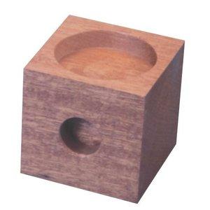Standaard houten verhogers van 7,5 cm . Per stuk verkrijgbaar