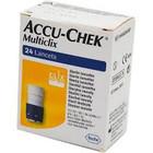 Accu-chek Multiclix Lancetten (24st)