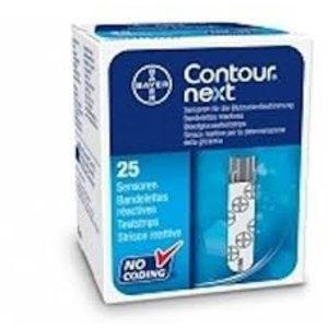 Teststrips voor de Bayer Contour XT en de Contour USB Next meter.