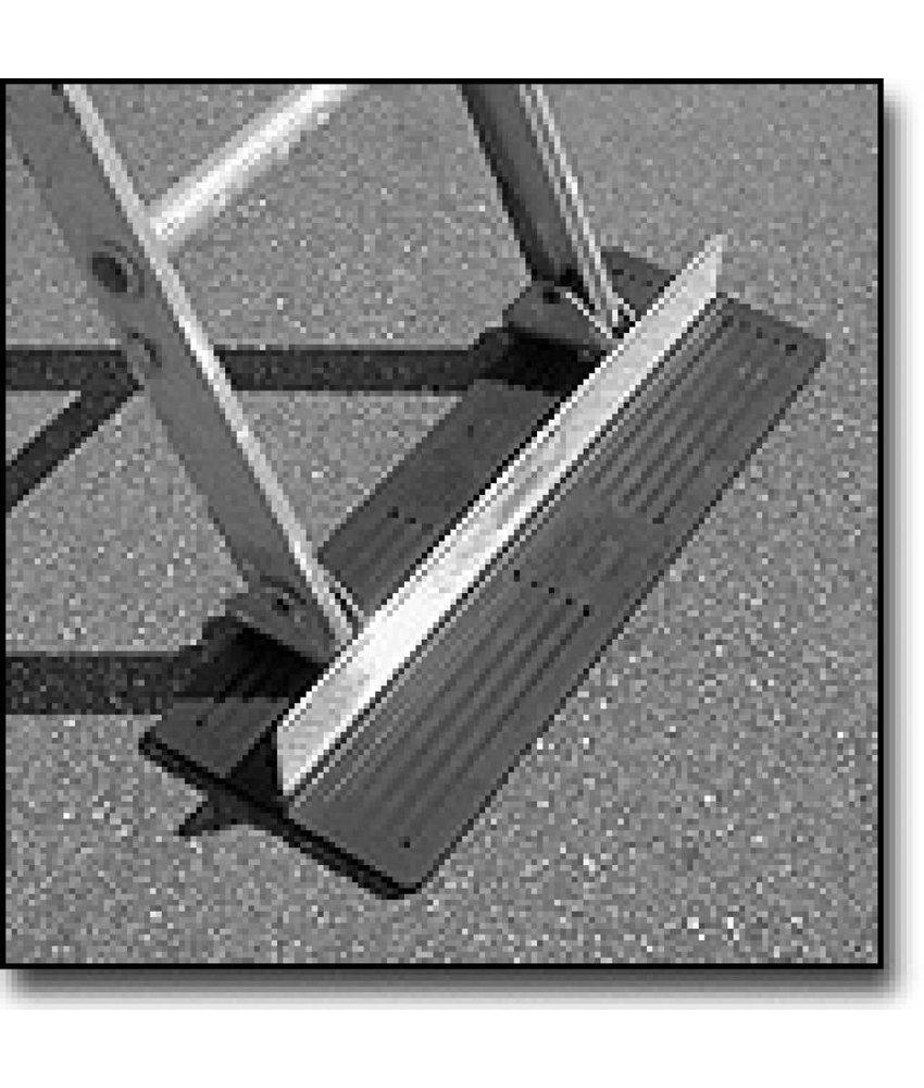 Dirks aluminium ladderstopperLimed met rubber coating