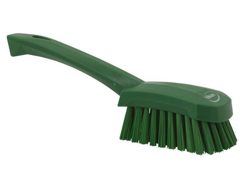 Vikan  afwasborstel met korte steel, hard, groen