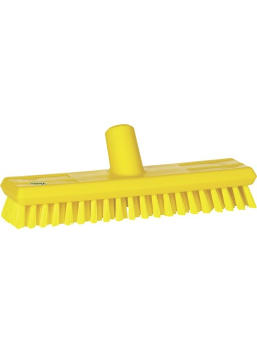 Vikan vloerluiwagen, hard, geel