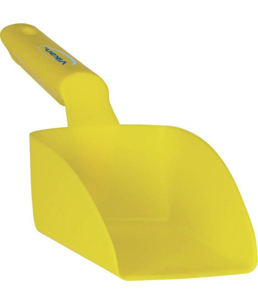 Vikan handschep, 0.5 liter, geel,