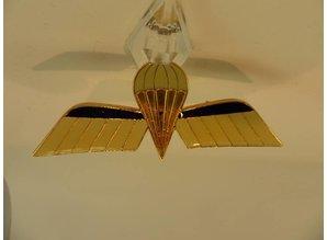 Embleem van metaal Nederlandse para wing Gold