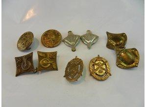 Nederlands leger oud Schouderstukken 5x set