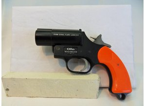 Sein pistool Winchester Kal.4. Voor watersport.