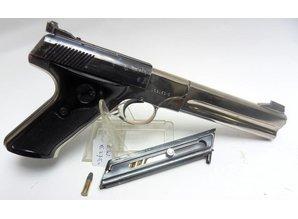 Colt Klein Kaliber Pistool Colt PT Woodman 22 LR VERKOCHT