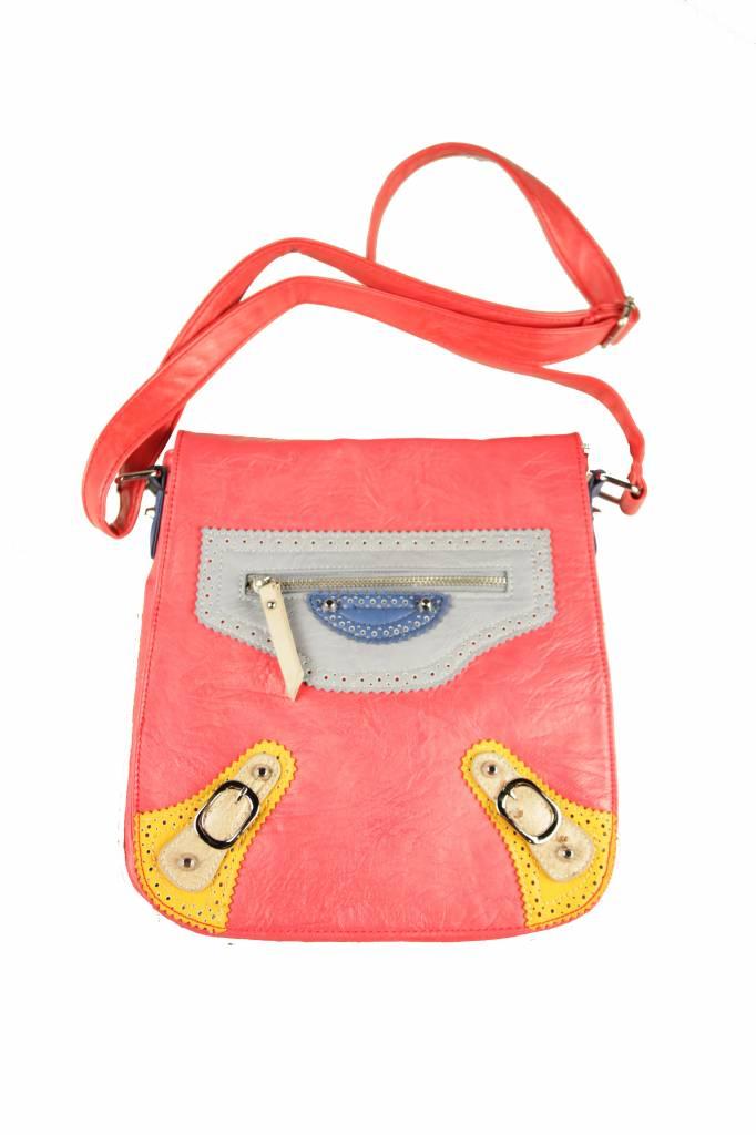 Dames tas rood B14