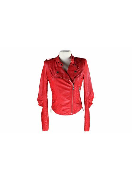 Dames  jas Toxik3 rood