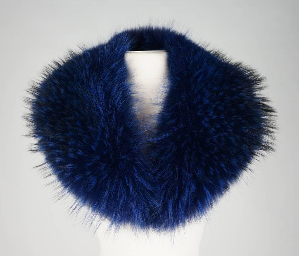 Milan Ferronetti Bontkraag XXXL blauw