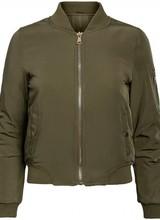 Dames bomber jacket groen