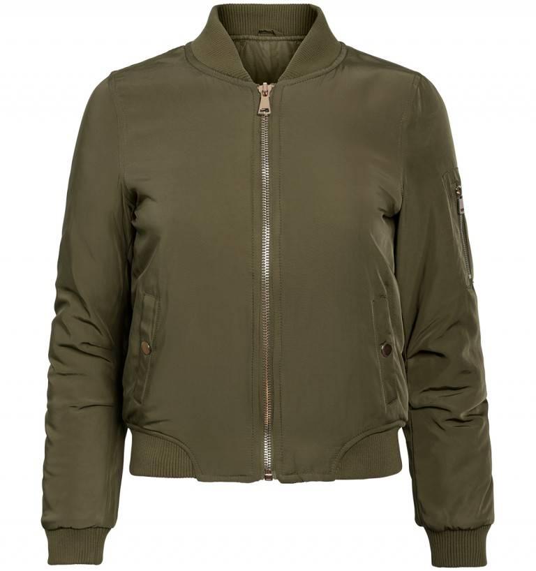 Attentif Dames bomber jacket groen
