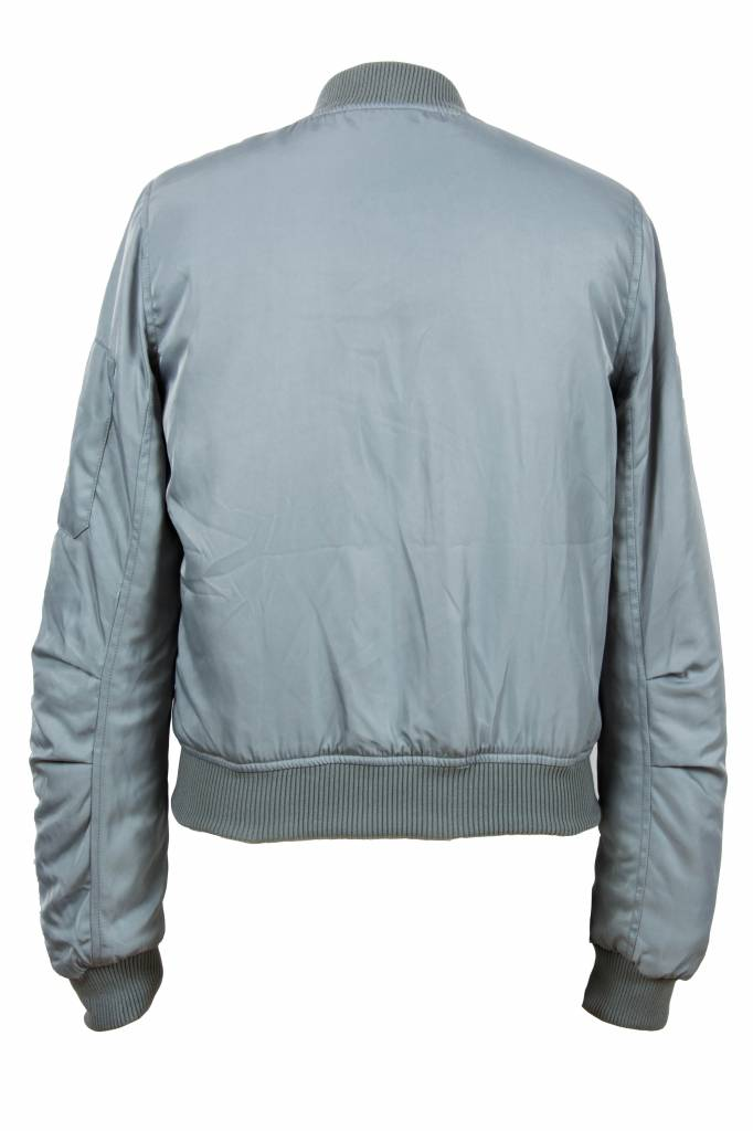 Attentif Dames bomber jacket grijs