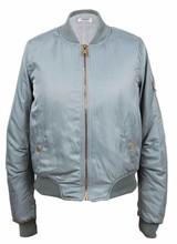 Dames bomber jacket grijs