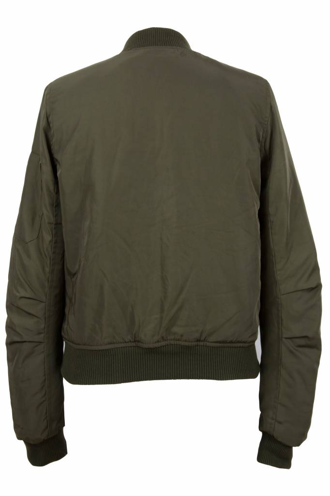 Attentif Dames bomber jacket groen 1