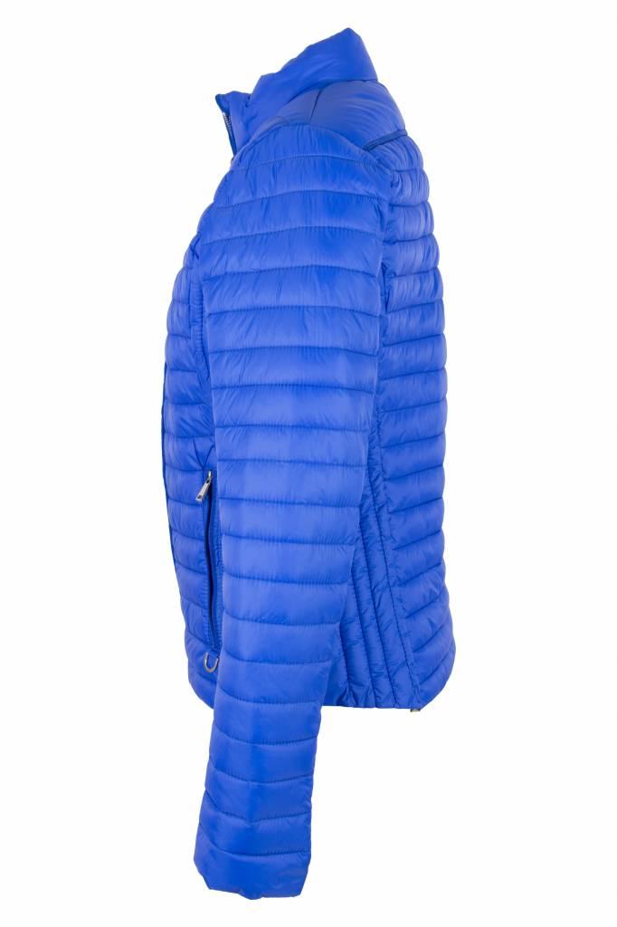 Dames zomer jasje aqua blauw