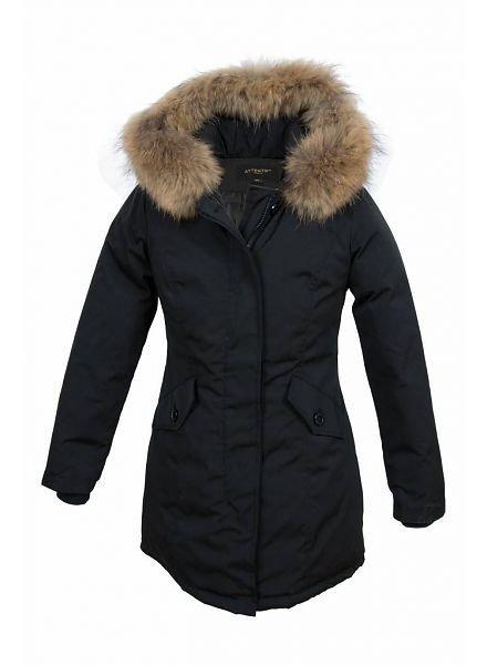 Parka winterjas zwart voor Kinderen